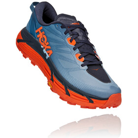 Hoka One One Mafate Speed 3 Shoes Men, provincial blue/carrot